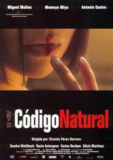 Cartel película Código Natural
